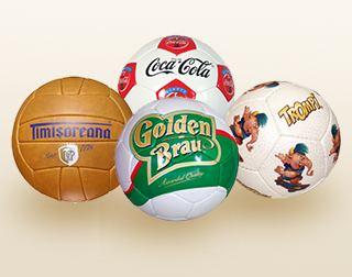 Examples of promotional balls